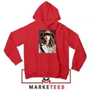 Taylor Swift Graphic Red Hoodie