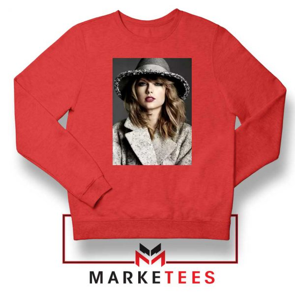 Taylor Swift Graphic Red Sweater