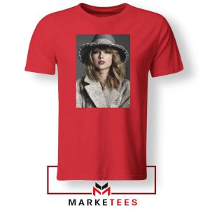 Taylor Swift Graphic Red Tee Shirt