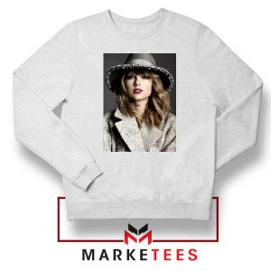 Taylor Swift Graphic White Sweater