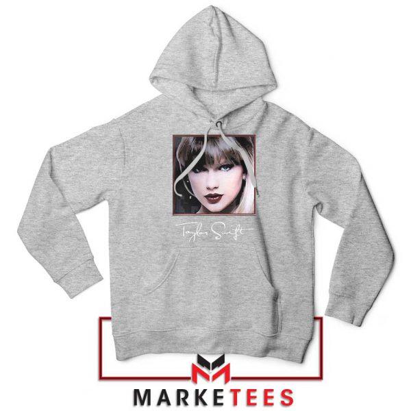 Taylor Swift Signature Grey Hoodie