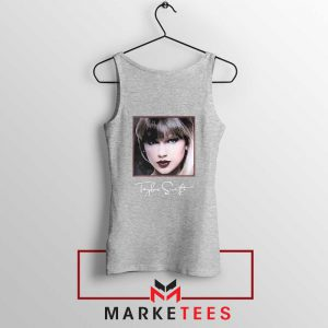 Taylor Swift Signature Grey Tank Top