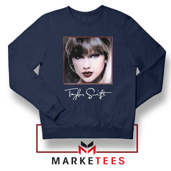 Taylor Swift Signature Navy Sweatshirt