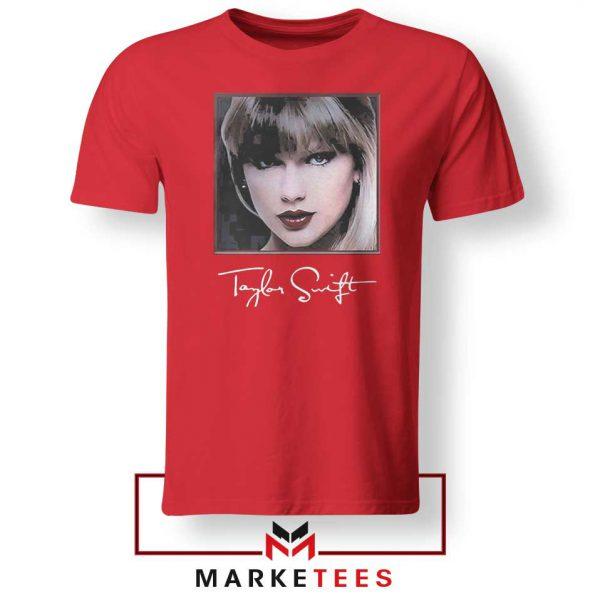 Taylor Swift Signature Red Tshirt