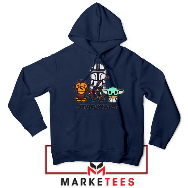 The Child Bape Baby Milo Navy Blue Hoodie