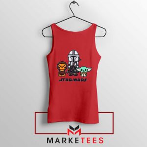 The Child Bape Baby Milo Red Tank Top