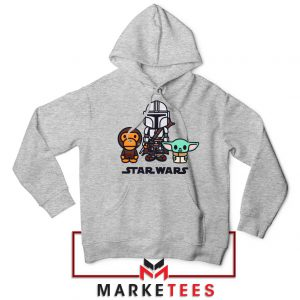 The Child Bape Baby Milo Sport Grey Hoodie