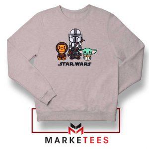 The Child Bape Baby Milo Sport Grey Sweatshirt