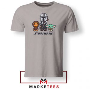The Child Bape Baby Milo Sport Grey Tee Shirt