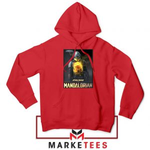 The Child Boba Star Red Hoodie