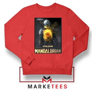 The Child Boba Star Red Sweater