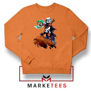 The Child Lion King Simba Orange Sweatshirt