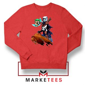 The Child Lion King Simba Red Sweatshirt