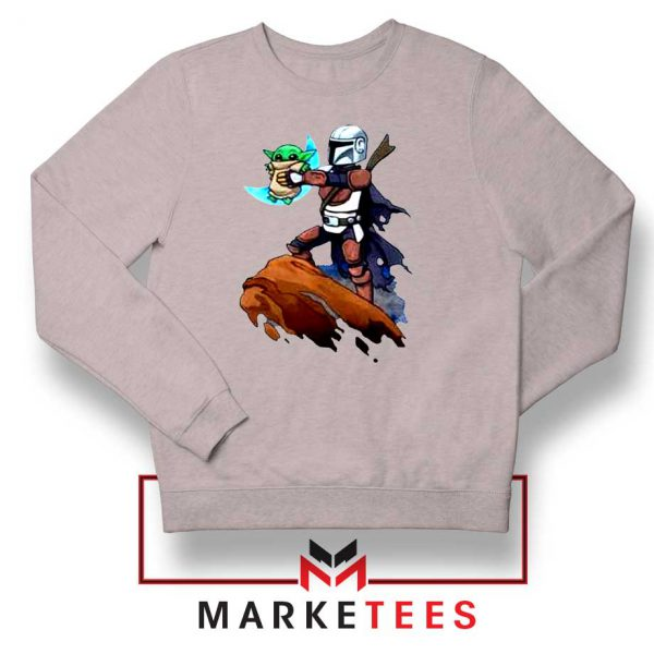 The Child Lion King Simba Sport Grey Sweatshirt
