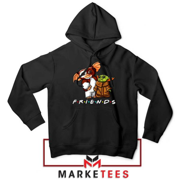 The Child and Gremlins Black Hoodie