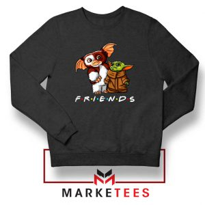 The Child and Gremlins Black Sweater