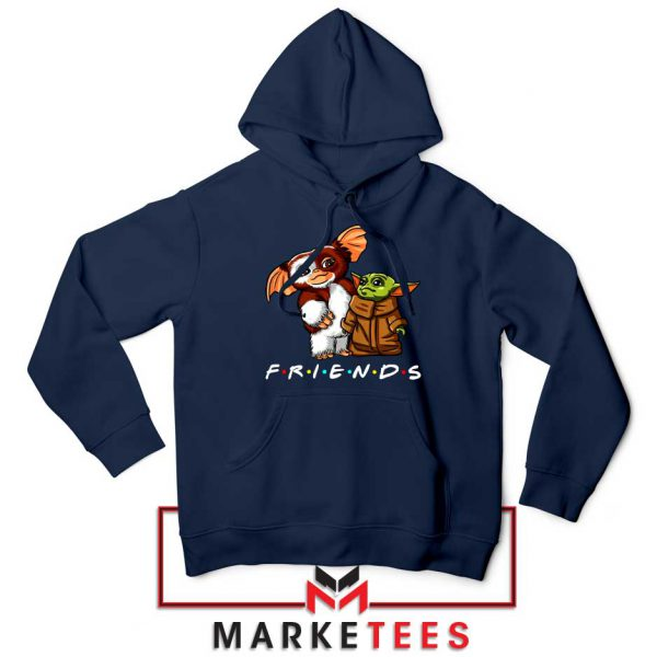 The Child and Gremlins Navy Blue Hoodie