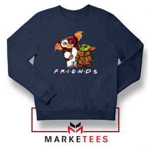 The Child and Gremlins Navy Blue Sweater