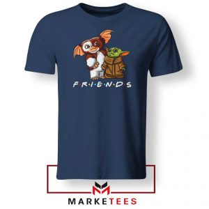 The Child and Gremlins Navy Blue Tee Shirt