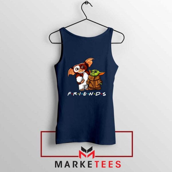 The Child and Gremlins Navy Tank Top