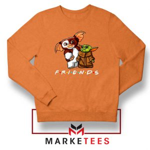 The Child and Gremlins Orange Sweater