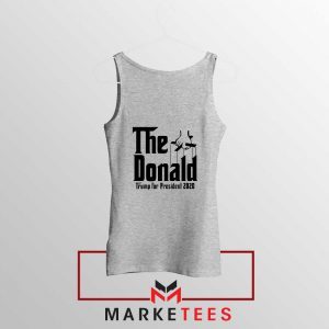The Donald Trump Grey Tank Top