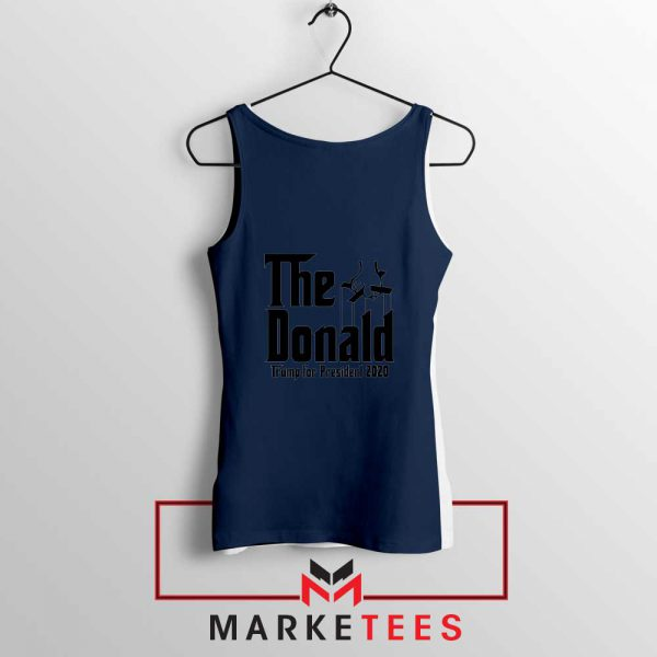 The Donald Trump Navy Tank Top