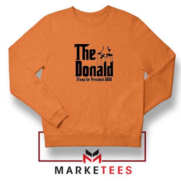 The Donald Trump Orange Sweatshirt