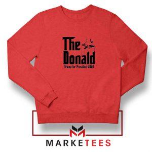 The Donald Trump Red Sweatshirt