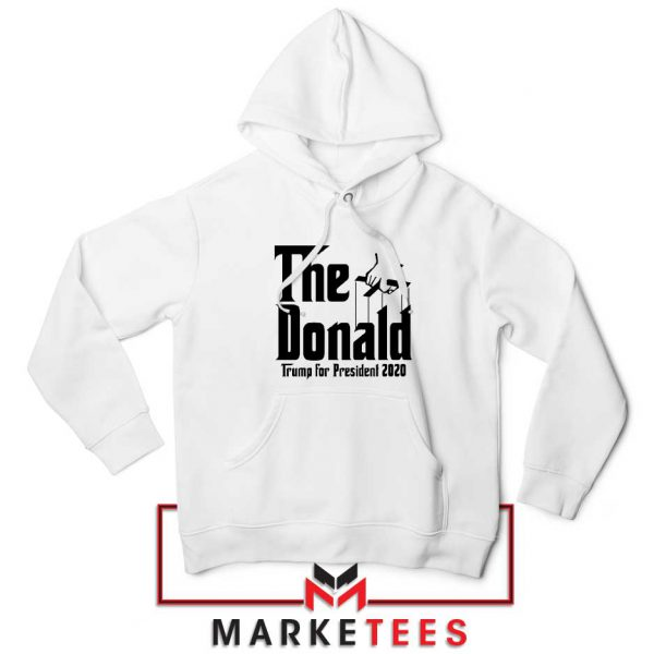 The Donald Trump White Hoodie