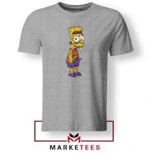 The Scary Bart Grey Tshirt