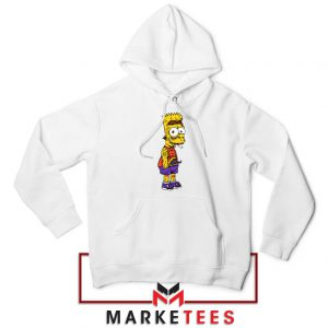 The Scary Bart White Hoodie
