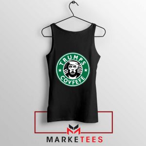 Trump Covfefe Black Tank Top