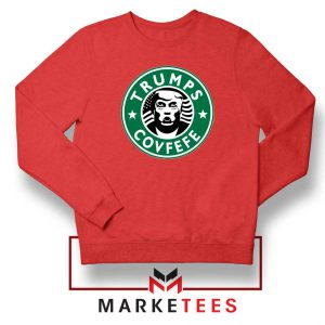 Trump Covfefe Red Sweater