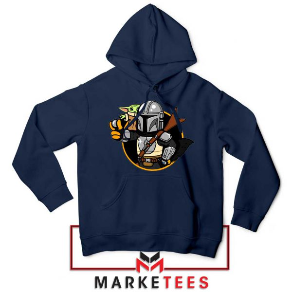 Vault Mando The Child Navy Blue Hoodie