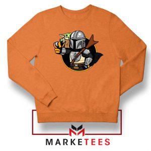 Vault Mando The Child Orange Sweatshirt