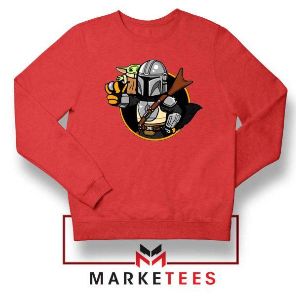 Vault Mando The Child Red Sweatshirt