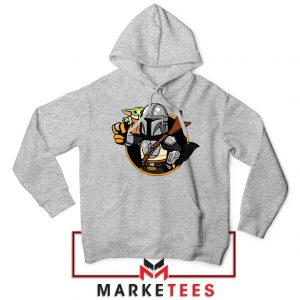 Vault Mando The Child Sport Grey Hoodie