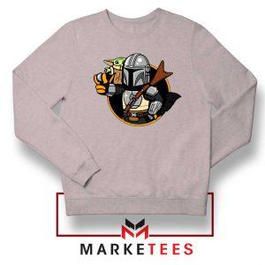 Vault Mando The Child Sport Grey Sweatshirt