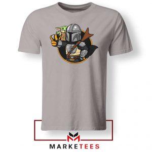 Vault Mando The Child Sport Grey Tee Shirt