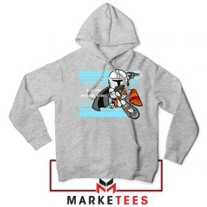 You Got Beskar Steel Starwars Sport Grey Hoodie