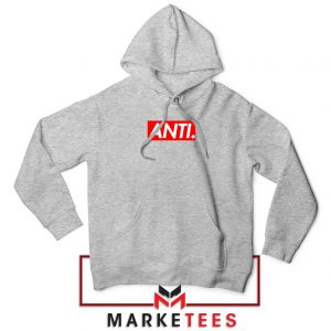 Anti Albumn Supreme Parody Sport Grey Hoodie