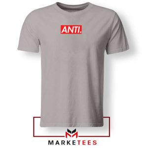 Anti Albumn Supreme Parody Sport Grey Tee Shirt