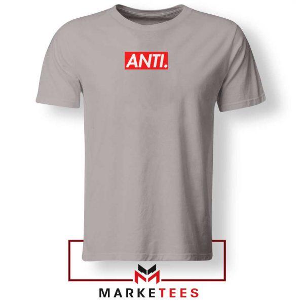 Anti Albumn Supreme Parody Sport Grey Tee Shirt