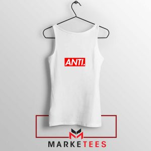 Anti Albumn Supreme Parody White Tank Top