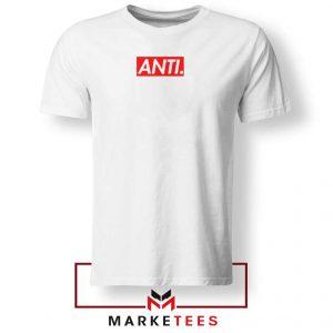 Anti Albumn Supreme Parody White Tee Shirt