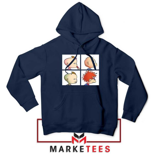Baby Days Rugrats Navy Blue Hoodie