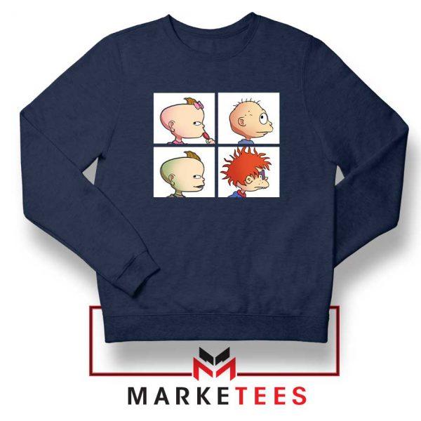 Baby Days Rugrats Navy Blue Sweatshirt