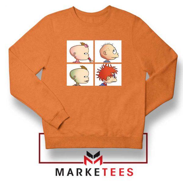 Baby Days Rugrats Orange Sweatshirt