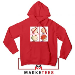 Baby Days Rugrats Red Hoodie